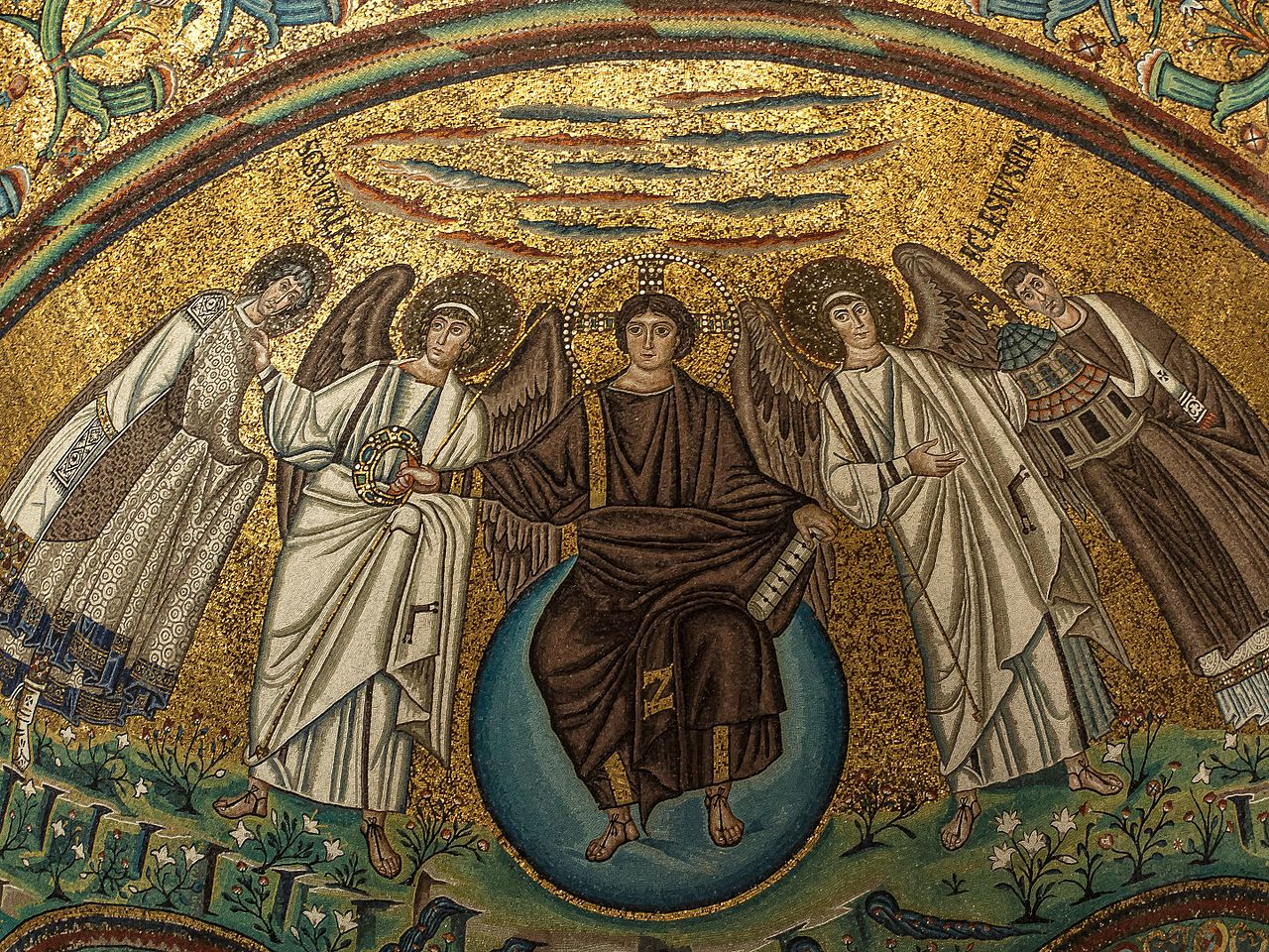 an examination of the mosaics of san vitale