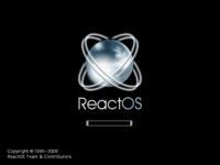 ReactOS 0.3.1 boot screen