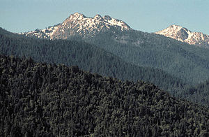 Siskiyou Mountains - The Red Buttes in the Siskiyou Mountains