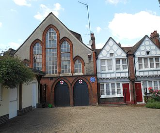 Benton Fletcher - Red Cross Hall and Red Cross cottages 6 and 5