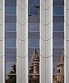 Reflection of Fisherman's Bastion on the Hilton hotel.jpg