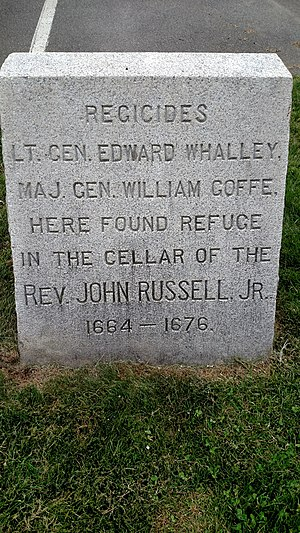 Edward Whalley - Image: Regicide Memorial Russell 1664 1676 LQ