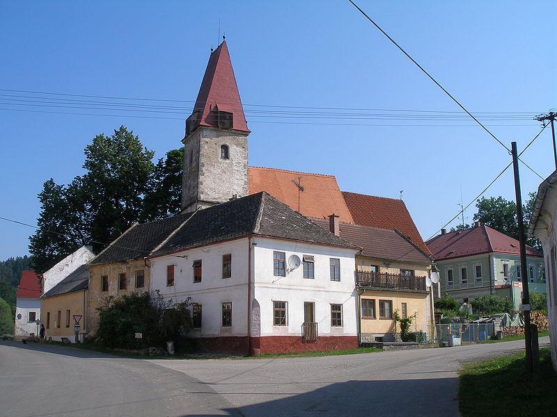 kostel sv. Ondřeje v Rychnově nad Malší