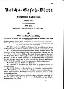 Reichsgesetzblatt (Austria) 1867 0389.jpg