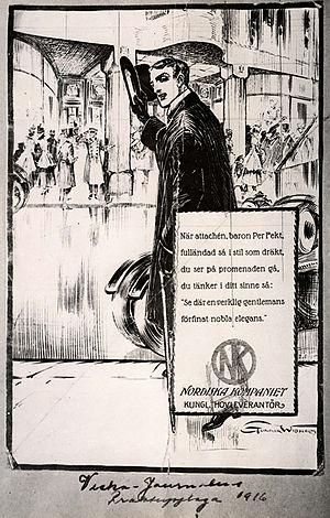 Nordiska Kompaniet - Ad from 1915.