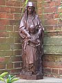 Religious statue, St Alban the Martyr, Brooke Street EC1 - geograph.org.uk - 1393731.jpg