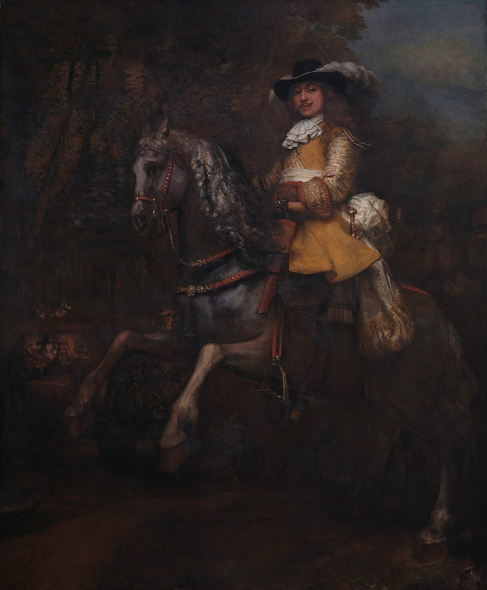 Rembrandt - Frederick Rihel on Horseback - WGA19157
