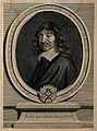 René Descartes. Line engraving by G. Edelinck after F. Hals, Wellcome V0001546.jpg