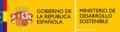 República Española - Ministerio de Desarrollo Sostenible.png