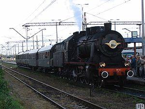 """""""Costerina"""" heritage train, Gdynia - Koscierzyna, Poland"""