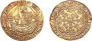 Edward of Angoulême - A coin from the reign of Richard II.