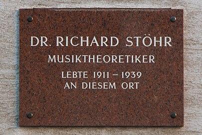 Richard Stöhr plaque.jpg