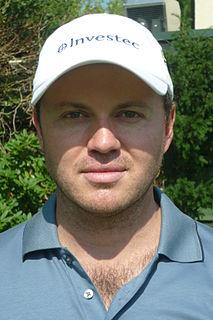 Richard Sterne (golfer) South African professional golfer (born 1981)