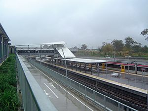 Springfield railway line - Richlands railway station, 2011