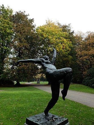 "Rik Wouters - Sculpture ""Het zotte geweld"" at Middelheim Open Air Sculpture Museum, Antwerp"