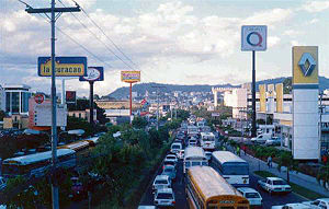 Ring road Tegucigalpa Honduras