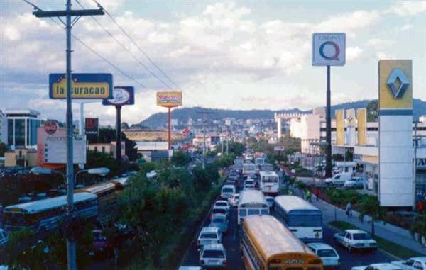 Ring road Tegucigalpa Honduras