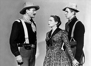 Rio Grande (film) - Image: Rio Grande (1950) publicity still 1