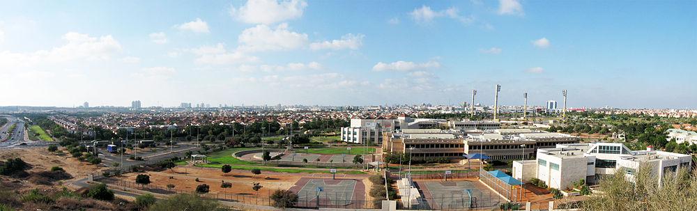 מראה פנורמי צפונה ומערבה מהמצודה האשורית במערב העיר