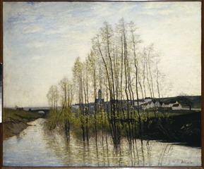 River Landscape, Champagne