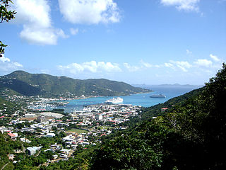 Town in British Virgin Islands, United Kingdom