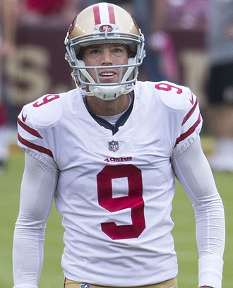 Robbie Gould - Gould with the San Francisco 49ers in 2017