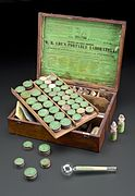Robert Best Ede's chemistry set, England, 1840-1900 Wellcome L0057742.jpg