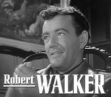 Robert Walker a Estranys en un tren (1951)