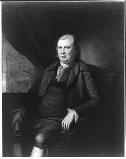 Robert Morris, president of Pennsylvania's Committee of Safety and one of the founders of the financial system of the United States. Robert morris portrait.jpg