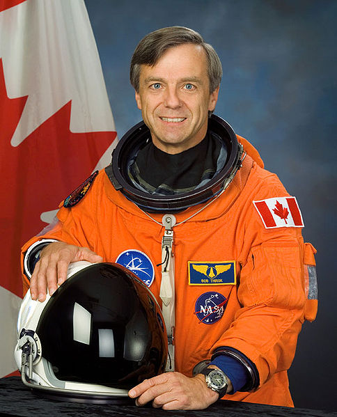 CSA astronaut Robert Thirsk, NASA photoSource: Wikipedia 484px-Robert_thirsk_v2.jpg