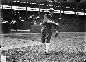 Rollie Zeider - Rollie Zeider, while playing for the Chicago White Sox in 1912.