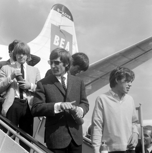 Rolling Stones at Amsterdam Airport Schiphol (1964) 1