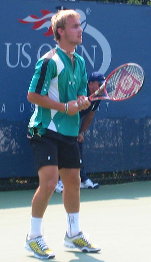 Roman Jebavý - Roman Jebavý at the Boys' Singles US Open 2007