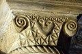 Romanesque capital, Durham Castle Undercroft Chapel.jpg