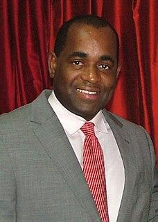 Roosevelt Skerrit Prime Minister of Dominica
