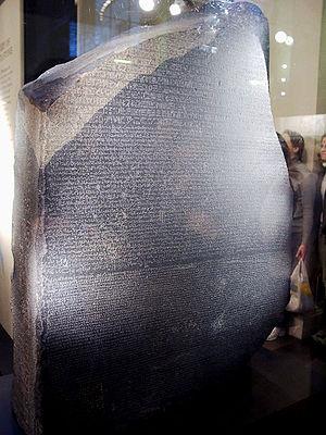 Pierre-François Bouchard discovered the Rosett...