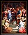 Rosso fiorentino, sposalizio della vergine e santi, 1523, 02.jpg