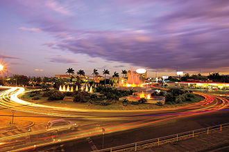 Managua - Managua at night