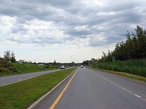 Quebec Route 112 - Route 112 near Magog, Quebec