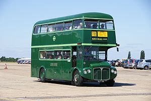Routemaster RMC4 (SLT 59), 2010 North Weald bus rally.jpg