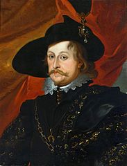 Portrait of Prince Ladislaus Vasa.
