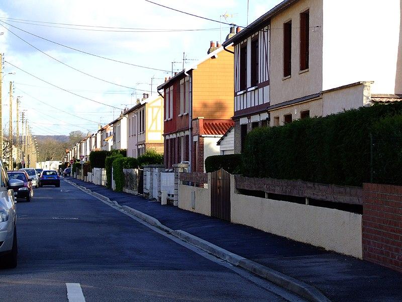 Rue roger Salengro Sotteville les rouen