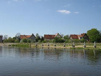 Rusnė Island - Image: Rusne from Nemunas
