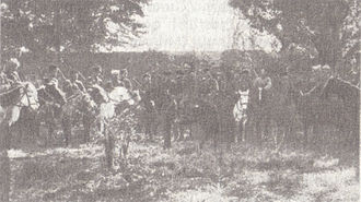 Defense of Van (1915) - On 17 May, Russian cavalry and a detachment of Russian Armenian volunteers arrived to relieve the Armenian garrison of Van