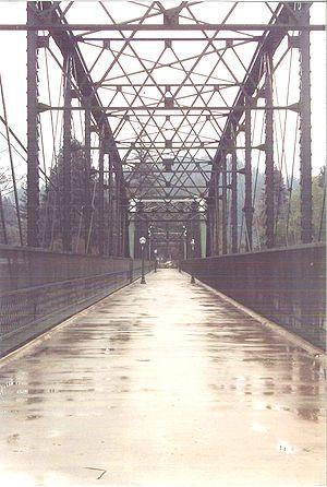 Guerneville, California - Old Russian River Bridge