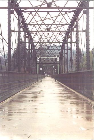 Guerneville, California - Old Russian River Bridge