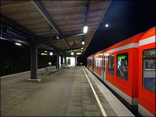 Kornweg station railway station in Hamburg, Germany