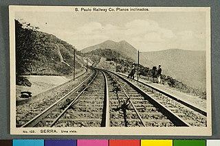S. Paulo Railway Co. Planos Inclinados. - Serra. uma Vista