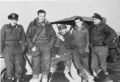 SAAF 8 wing squadron leaders with wing commander in jeep Rosy du Toit.png