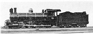 South African Class 8C 4-8-0 - CSAR Class 8-L3 483, SAR Class 8C 1174, c. 1910